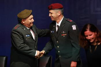 Israels neuer Generalstabschef tritt Amt an [Video]