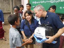 Nothilfe für Myanmar