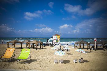Touristen fühlen sich in Israel wohl
