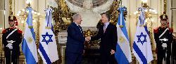 Premierminister Netanyahu besucht Lateinamerika
