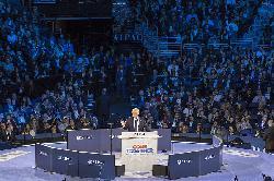 Trump bekundet Liebe und AchtungÂ' für Israel und das israelische Volk