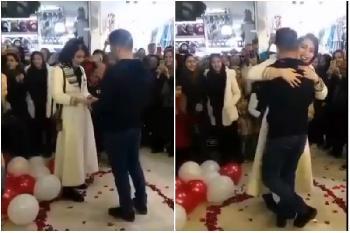 Iranisches Paar wegen öffentlichen Heiratsantrags verhaftet