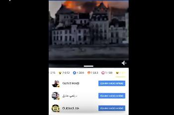 Notre Dame: Jubel bei fanatischen Muslimen und der `Antifa´ über die Zerstörung der Kathedrale [Video]