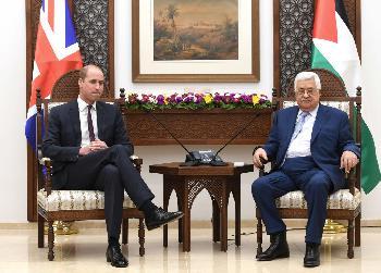 Was Prinz William in Ramallah nicht gesehen hat
