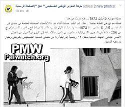 """""""Olympischer Geist"""" nach Fatah-Art"""