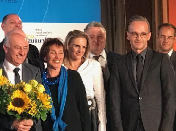 Shimon-Peres-Preis verliehen