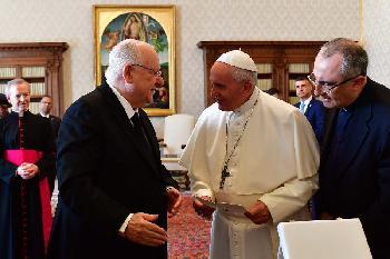 Staatspräsident Rivlin in Italien und im Vatikan