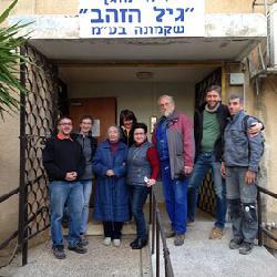 Sächsische Handwerker in Israel