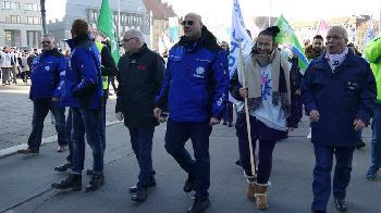 DPolG Berlin rief zu Warnstreik und Kundgebung auf