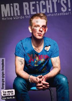 Angriffe auf Homo- und Transsexuelle im letzten Jahr um 62 Prozent gestiegen