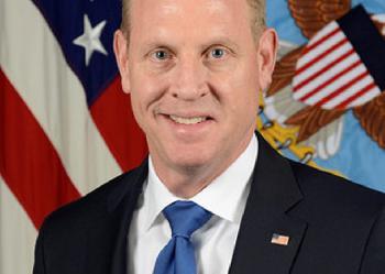 US-Verteidigungsminister Patrick M. Shanahan  im Potrait