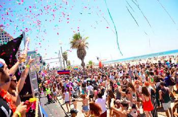 250.000 Menschen beim Tel Aviv Pride