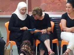 Hunderte Israelis und Palästinenser gemeinsam beim Fastenbrechen