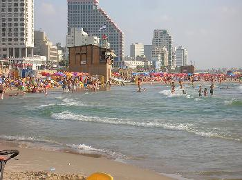 Tzuk Strand in Tel Aviv [Video]