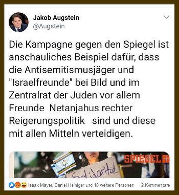 Der braune Rote  - Augsteins Rundumschlag gegen die Juden