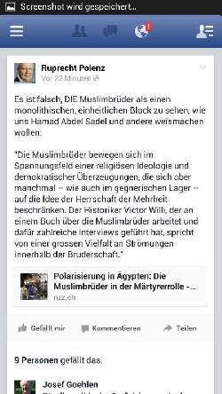 Von Ruppi lernen heißt die Muslimbrüder zu verstehen