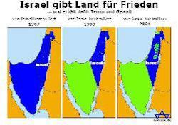 Die Juden haben niemandem Land weggenommen