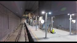 Der unterirdische Bahnhof in Jerusalem [Video]