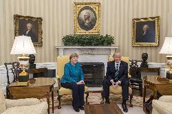 Merkel reist nach Washington