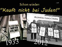 Klare Stellung gegen die antisemitische BDS-Boykottkampagne