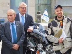 Berlin - Jerusalem auf dem Motorrad