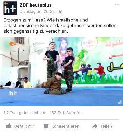 Und wieder zeigt ZDF heute+ was Verachtung ist