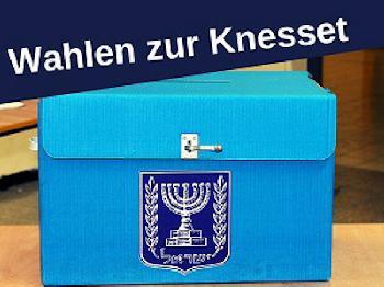 Ergebnis der Parlamentswahlen in Israel