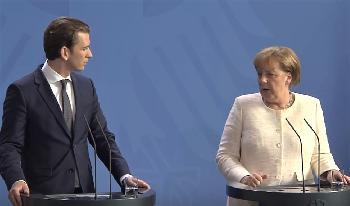 Sebastian Kurz: `Dürfen uns nicht länger von Erdogan mit neuen Flüchtlingswellen erpressen lassen´