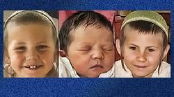 Drei jüdische Kinder