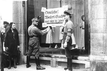 Der Judenstern - nur konsumentenorientierte Einkaufshilfe?