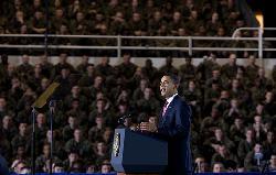 Die Bewertung der Rede Obamas in der Moschee
