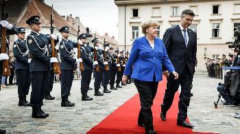 Merkel besucht Kroatien