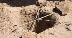 Zeitung: Unterirdische Betonmauer soll gegen Tunnelterror schützen