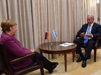 Netanyahu dankt der Bundesregierung