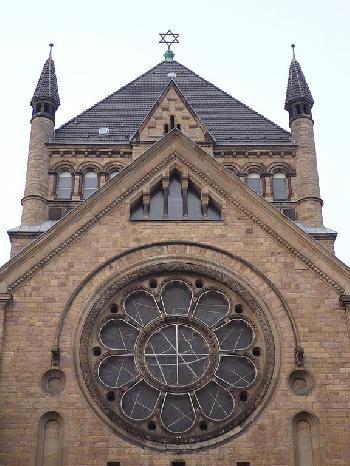 60. Jahrestag der Synagoge Roonstraße