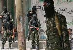 Fatah-Araber demonstrieren Solidarität mit Hamas
