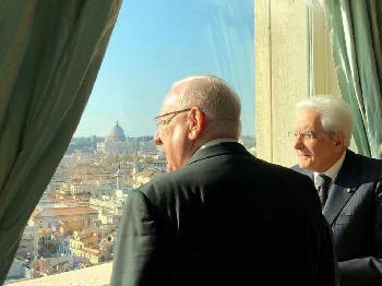 Staatspräsident Rivlin in Italien