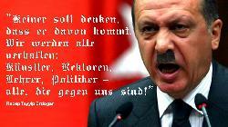 Erdogan trägt seinen Krieg nach Deutschland