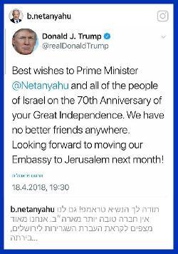 Zum 70. Jahrestag der neuzeitlichen Wiedergründung des jüdischen Staates