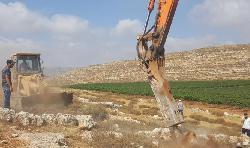 Bauerbeiten zu neuer Stadt in Samaria haben beonnen