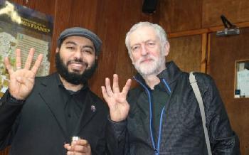 Corbyn zeigte Gruß der Muslimbrüder