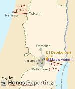 New York Times: E1 würde Westjordanland doch nicht in zwei Hälften teilen