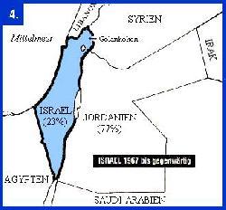 Israel besetzt die Westbank legal