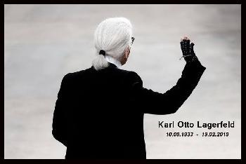 À Dieu Karl !