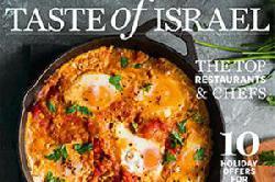 Das jämmerliche Geheul über eine Werbebeilage mit israelischen Speisen