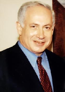 Netanyahu im Glück