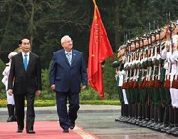 Staatspräsident Rivlin in Vietnam