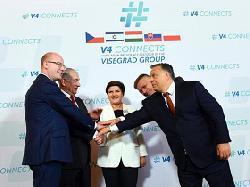 Premierminister Netanyahu beim Visegrád-Gipfel