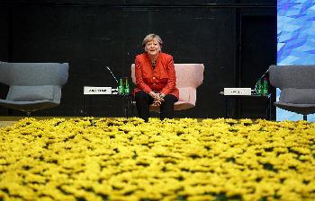 Wo mag denn nur unsere Angela sein?