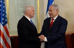 Pemierminister Netanyahu begrüßt US-Vizepräsident Pence in Jerusalem [Video]